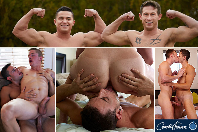 College guys made to jerk